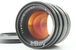 Mint Leica Summilux M 50mm f/1.4 Black E46 Lens For M Mount From JAPAN #8456