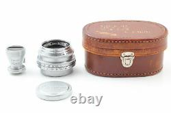 Mint in Case CANON 35mm f2.8 + Finder Leica Screw Mount L39 LTM from japan b67