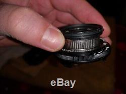 Ms optical lens 35 mm f 2.8 Contax T2 Leica M-mount Film ModifiedMS optics M7 M6