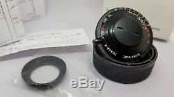 Ms-optics Ultra Wide 17mm 4.5 lens hand made in Japan hardly used Leica M mount