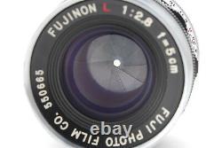 NEAR MINTFujifilm Fujinon L 50mm F/2.8 Lens for Leica L39 LTM Mount From Japan