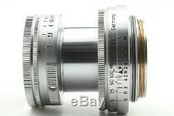 NEAR MINTLEICA LEITZ WETZLER SUMMITAR 50mm f2 12 Lens L39 Mount From JAPAN
