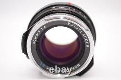 NEAR MINTVoigtlander Nokton 40mm F1.4 SC For Leica VM Mount From Japan