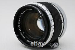 NEAR MINT CANON 50mm f/1.8 Leica L39 LTM Screw Mount Lens W Hood from JAPAN