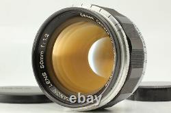 NEAR MINT Canon 50mm f/1.2 Lens LTM L39 Leica Screw Mount From Japan
