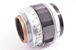 NEAR MINT Canon 50mm f/1.4 Leica L39 LTM Screw Mount MF Lens From JAPAN