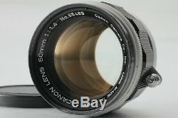 NEAR MINT Canon 50mm f/1.4 Manual MF Lens L39 Leica Screw Mount LTM Japan 1392