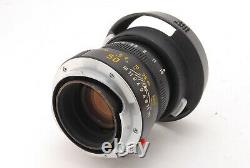 NEAR MINT IN BOX LEICA SUMMICRON M 50MM F2 BLACK Ver III V3 M MOUNT From JAPAN