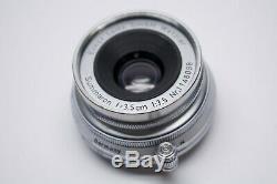 NEAR MINT LEICA LEITZ Summaron 35mm f3.5 M Mount Lens from Japan #1062