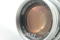 NEAR MINT Leica Leitz Summicron f2 50mm M mount Lens From Japan
