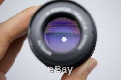 NEAR MINT MINOLTA M Rokkor 90mm f/4 Lens for CL CLE Leica M mount Japan #1052