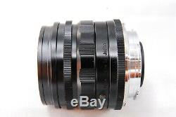 NEAR MINT Voigtlander Ultron 28mm f/1.9 Aspherical Leica M Mount WIDE LENS #55