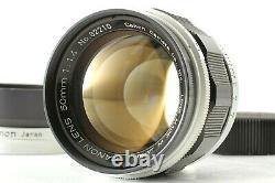 NEAR MINT with HOOD Canon 50mm f/1.4 Lens LTM L39 Leica Screw Mount From JAPAN