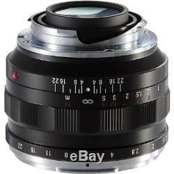NEW Voigtlander Nokton 40mm f/1.2 Aspherical Lens for Leica M-Mount VM