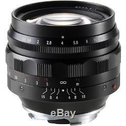 NEW Voigtlander Nokton 50mm F/1.1 Aspherical Lens For Leica M Mount BA247A USA
