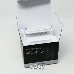 NEW Voigtlander Nokton Classic 40mm f/1.4 MC Multi MF Lens VM Leica M mount