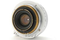 N MINTCanon 28mm f/2.8 Lens Leica Screw Mount LTM L39 From JAPAN