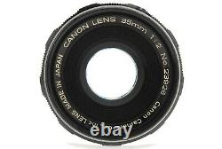 N MINT++Canon 35mm F/2 Leica LTM L39 Screw Mount MF Wide Angle Lens From JAPAN