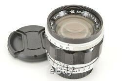 N MINT Canon M39 L39 LTM Leica Screw Mount 50mm f1.4 Lens from Japan DHL 0818H