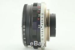 N MINT+ withHoodVoigtlander Color Skopar 35mm f2.5 MC Leica L39 Screw Mount JPN