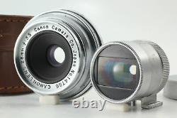 Near MINT Canon 28mm f3.5 Lens LTM L39 Leica screw Mount From JAPAN