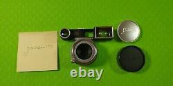 Near Mint LEITZ Leica Summaron M mount 3.5cm (35mm) f/3.5 Goggle Lens