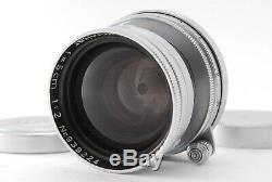Near Mint Leica Leitz Summitar 5cm 50mm F/2 Mf L39 Mount Lens From Japan