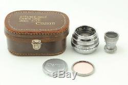 Near Mint with Finder Canon Serenar 35mm F2.8 Leica L Screw Mount L39 LTM Japan