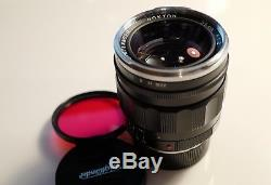 Neuwertiges Objektiv Voigtländer Nokton 35mm F1.2 asphärisch II, Leica M Mount