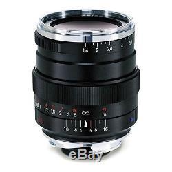 New Carl ZEISS 35mm f1.4 DISTAGON T ZM Lens ZM Leica M Mount BLACK Japan Made