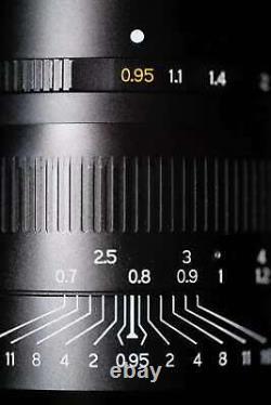 New TTartisan 50mm F0.95 MF Lens Super Aperture for Leica M mount M9 M10 Lens