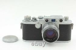 Nicca 3-F with Nikon Nikkor H-C 50mm F/2 Rangefinder Leica Screw Mount Lens Kit