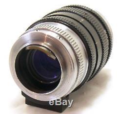 Nikon 10.5cm 105mm f/2.5 Nikkor-P. C lens, Leica LTM screw mount EXC+