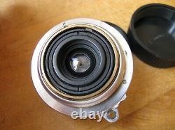 Nikon 28mm 2.8cm W-Nikkor C f/3.5 Lens in Leica Screw Mount LTM L39 M39 Read
