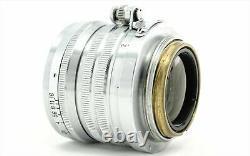 Nikon Nikkor S. C 5cm 50mm f/1.4 MF Vintage Lens Leica Screw Mount L39 LTM Japan