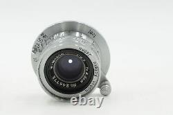 Nikon W-Nikkor C 3.5cm f2.5 Rangefinder Lens 35mm L39 M39 Leica Mount #772