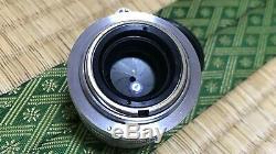 Nippon Kogaku Nikon Nikkor-H. C 50mm 5cm F2 f/2 Lens L39 LTM Leica L Screw Mount