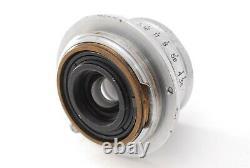 Nippon Kogaku Nikon W-Nikkor C 2.8cm 28mm f/3.5 Leica L39 LTM Screw Mount #315
