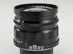 Nokton 50mm f/1.5 Aspherical Lens for Leica L39 LTM Screw Mount