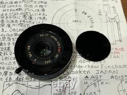 Open Box Unused Miyazaki Optics MS-OPTICS APORIA 24mm F2 Black Leica M mount