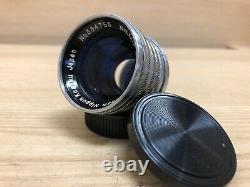 Opt Near Mint Nikon Nikkor S. C 50mm 5cm F/1.4 LTM L39 Leica Screw Mount Japan