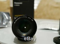 Panasonic 42.5mm f1.2 ASPH Leica DG Nocticron Lens for M3/4 mount #7 light dent
