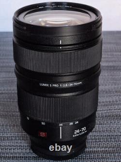 Panasonic Lumix S PRO 24-70mm f/2.8 Zoom Lens Leica & Panasonic L-mount MINT