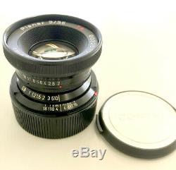 Planar 35mm F2 MS-OPTICS Miyazaki optics CONTAX G remodeling for Leica M mount