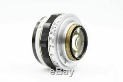 RARE! CANON 35mm f/1.5 Lens for L39 LEICA SCREW MOUNT LTM IN CASE From JAPAN