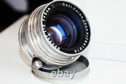 RARE CARL ZEISS JENA SONNAR T 12 f=50mm Rangefinder M39 Leica LTM mount EXC