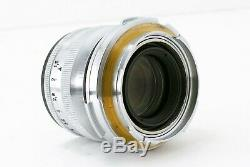 RARE Carl Zeiss Sonnar 50mm f1.5 for Contax RF with Leica M Mount Adapter #284