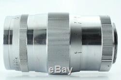 RARE EXC+5 Canon 85mm f/1.9 Leica Screw Mount LTM L39 Rangefinder Lens #169