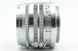 RARE! EXC+5 with HOOD CANON 50mm f/1.5 MF Lens Leica L39 LTM Mount From JAPAN