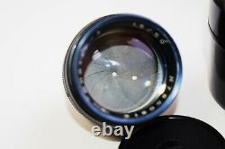RARE JUPITER-3 Black Edition 50mm f/1.5 USSR RF lens LEICA LTM mount M39 SUPER